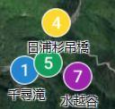 地図の丸数字